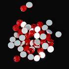 Стразы для ногтей SIAM, №6, цвет рубиновый