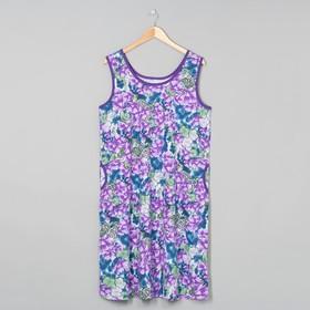Сарафан (платье) женский МИКС, р-р 54