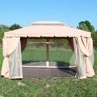 Беседка-шатер с москитной сеткой  3*4м