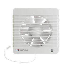 """Вентилятор """"ВЕНТС"""" 125 МВ, d=125 мм, с шнурковым выключателем, цвет белый"""