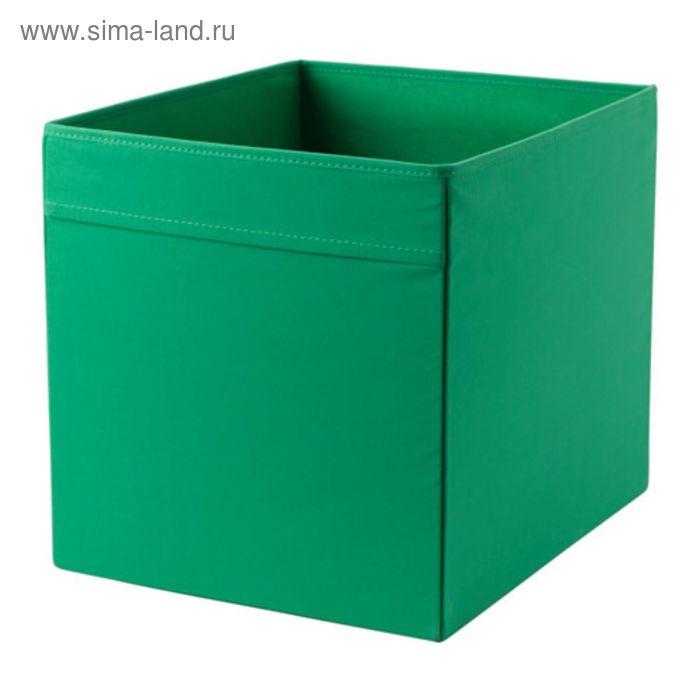 Коробка, цвет зеленый ДРЁНА