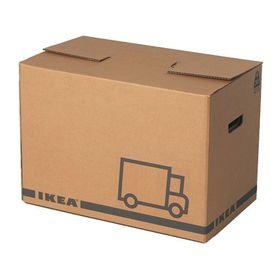 Упаковочная коробка, 2 шт, цвет коричневый ЭТЭНЕ Ош