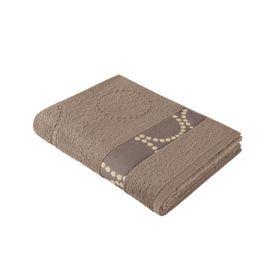 Полотенце махровое, размер 70х140 см, цвет мокко, хлопок 420 г/м2 707733