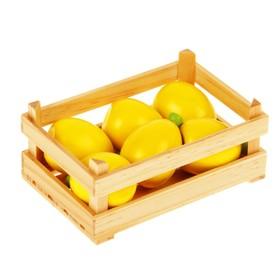 """Игровой набор """"Ящик с лимонами"""", лимон — 11 × 5 см"""