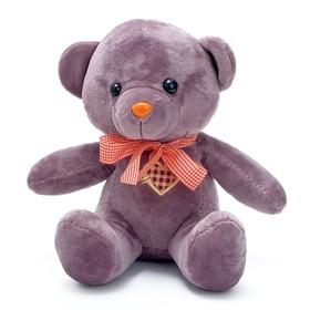 """Мягкая игрушка """"Медведь с вышитым сердцем на груди"""", цвет МИКС, 24 см"""