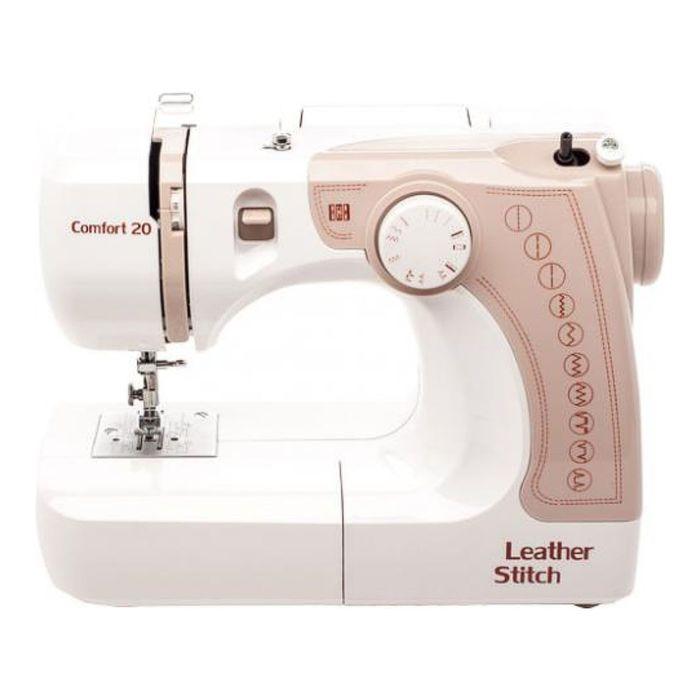 Швейная машина Comfort 20, 11 опер, обметочная, эластичная, потайная строчка, белый