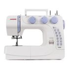 Швейная машина Janome VS56S, 25 опер, обметочная, эластичная, потайная строчка, белый