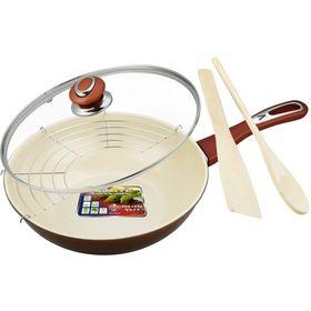 Сковорода ВОК с крышкой 26 см, 3 л
