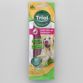 Колбаски Triol для собак, из утки, 40г
