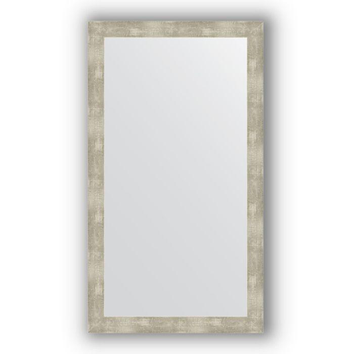 Зеркало в багетной раме - алюминий 61 мм, 64 х 114 см, Evoform