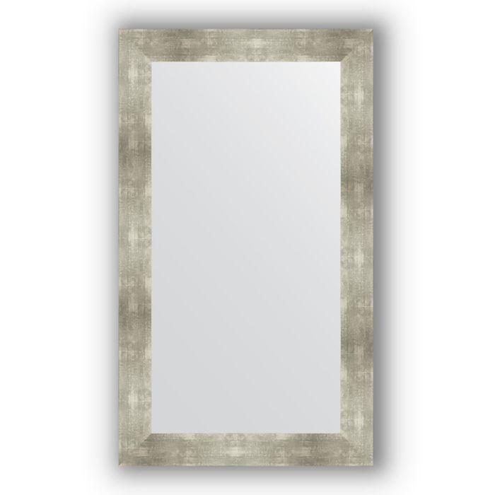 Зеркало в багетной раме - алюминий 90 мм, 70 х 120 см, Evoform