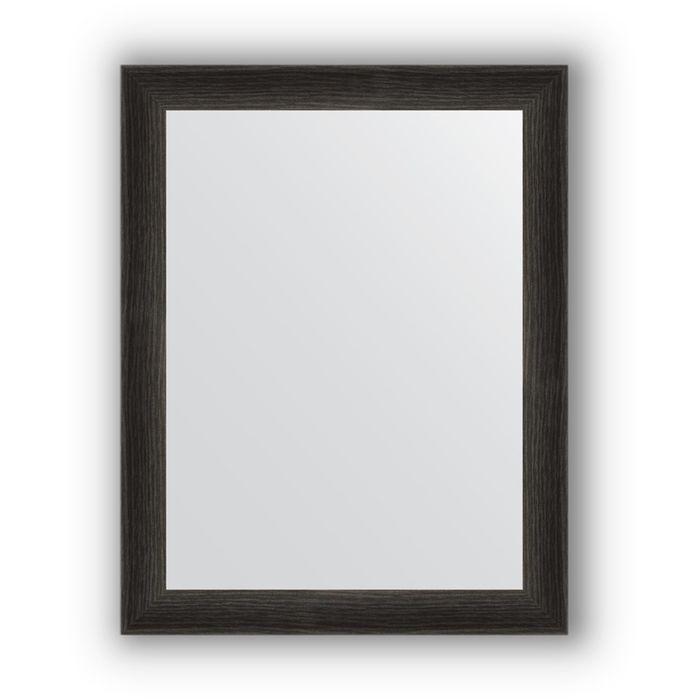 Зеркало в багетной раме - черный дуб 37 мм, 36 х 46 см, Evoform