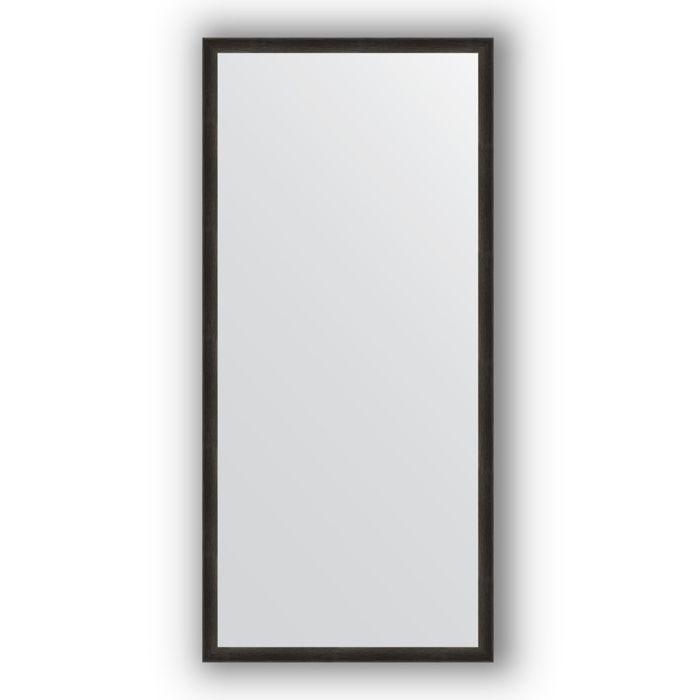 Зеркало в багетной раме - черный дуб 37 мм, 70 х 150 см, Evoform