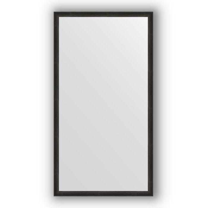 Зеркало в багетной раме - черный дуб 37 мм, 70 х 130 см, Evoform