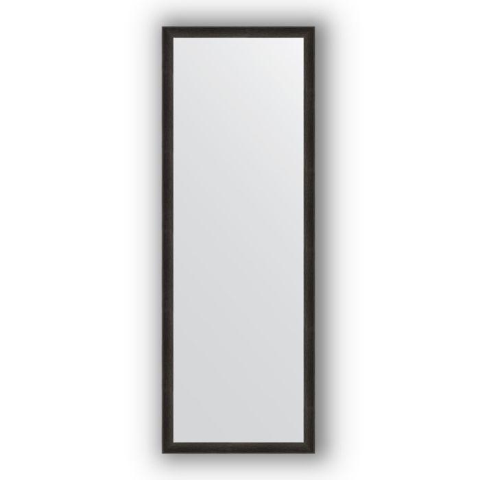 Зеркало в багетной раме - черный дуб 37 мм, 50 х 140 см, Evoform