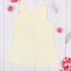 Сорочка детская, рост 98 см, цвет жёлтый 958_М