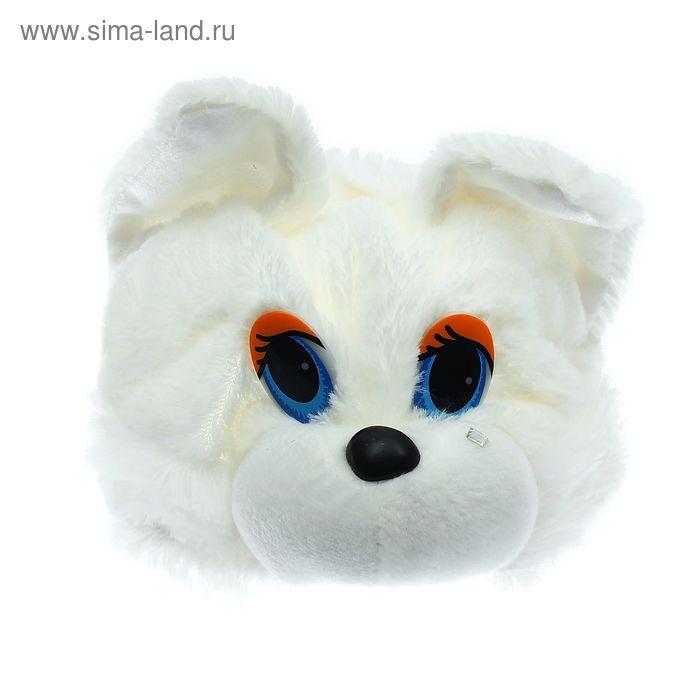 "Карнавальная шляпа ""Кошка"" белая"
