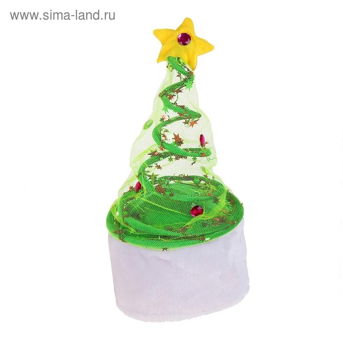 """Карнавальная шляпа """"Ёлочка"""""""