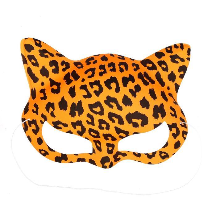 """Карнавальная маска """"Тигрица"""" (набор 6 шт)"""