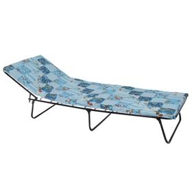 Кровать раскладная и матрас 195х65х26 см, до 80 кг