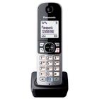 Трубка дополнительная Dect Panasonic KX-TGA681RUB чёрная для KX-TG6811/6821/6812/6822