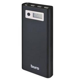 Внешний аккумулятор Buro RA-16000-3U-LCD-BK Li-Ion 16000 mAh