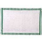 Стенка-сетка противомоскитная с молнией 2х4 м, зеленая