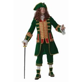 Карнавальный костюм 'ПЕТР 1', бархат и парча, р.50, рост 176 см Ош