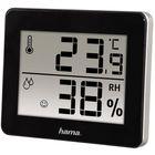 Термометр Hama TH-130, комнатной, чёрный
