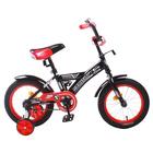"""Велосипед 14"""" Graffiti Storman RUS, цвет чёрный"""