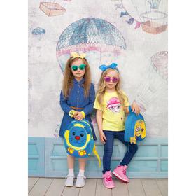 Джинсы для девочки 'ROVELLO', рост 110 см, цвет синий 4051 С Ош