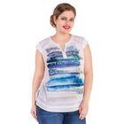 Блуза женская 17-27-78/0197, размер 52, цвет белый