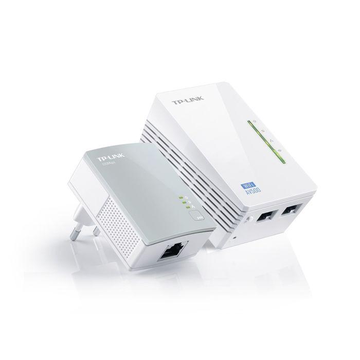 Сетевой адаптер HomePlug AV/WiFi TP-Link TL-WPA4220KIT