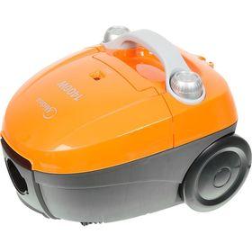 Пылесос Midea VCB33A3, 1400 Вт, мощность всасывания 250 Вт, 1.5 л, оранжевый Ош