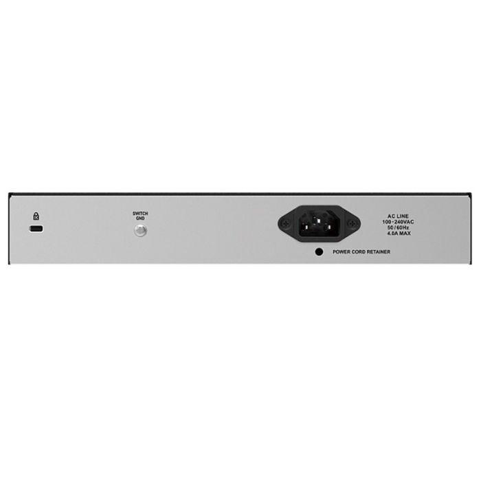 Коммутатор D-Link DES-1018P неуправляемый настольный 16x10/100BASE-TX