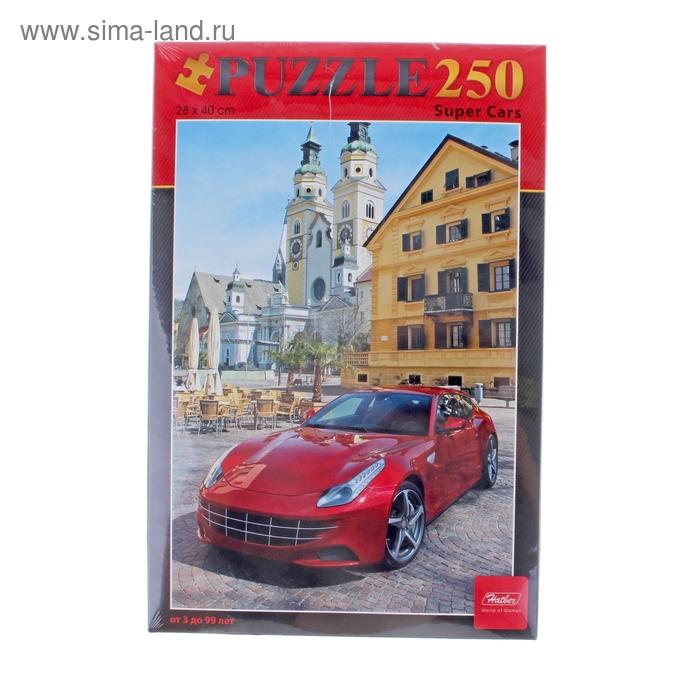 """Пазлы """"Super cars"""", 250 элементов"""