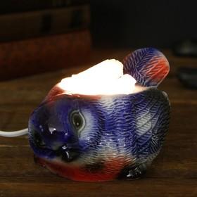 Соляной светильник 'Синица' малый керамика 7 х 10 х 15 см Ош
