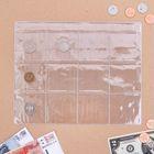 Лист для монет, 12 ячеек, 20 х 25 см
