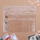 Лист для монет, 20 ячеек