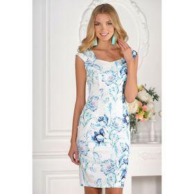 Платье женское, размер 42, рост 170 см, цвет белый