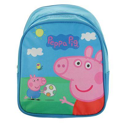 Рюкзачок детский  Свинка Пеппа 23*19*8 Пикник голубой 32039