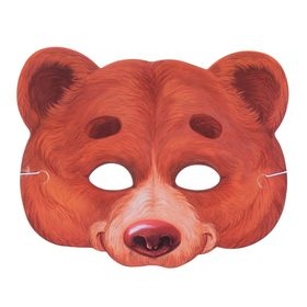 """Маска карнавальная """"Медведь"""""""