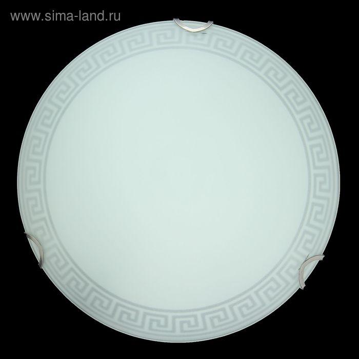 """Светильник настенно-потолочный """"Греция-М"""" 1 лампа E27 d=25 см"""