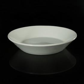 Блюдце-тазик d=14 см, h=3,1 см цвет белый
