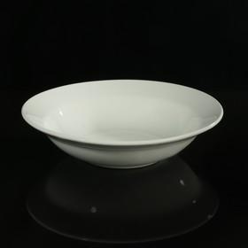 Салатник 250 мл, d=17,5 см, h=4,8 см цвет белый