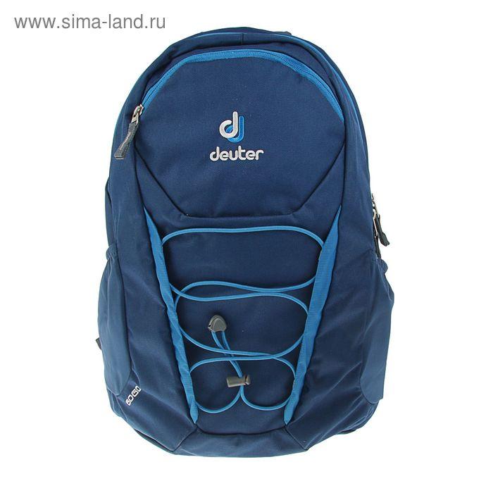 Рюкзак молодежный эргономичная спинка Deuter 46*30*21 Gogo, синий 3820016-1370