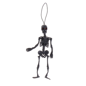 Подвеска 'Скелет', цвет черный Ош