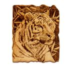 "Магнит ""Тигр в джунглях"" кедр"