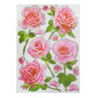 "Наклейки ""Розовые розы"" 360х500 мм"