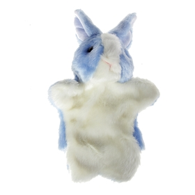 "Кукольный театр ""Заяц"", цвет: голубой"